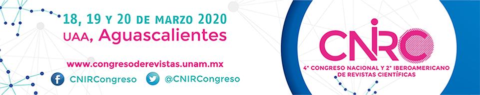 Banner del 3er. Congreso Nacional y 1er. Iberoamericano de Revistas Científicas